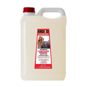MD10 Yorkshire Terrier Shampoo 2 Litre 8 Litre Diluted